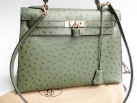 kelly bag, tasche, grace kelly, damenhandtasche, grün, leder
