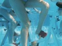 aquacycling, sport, rad, wasser