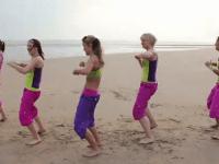 zumba, aerobic, tanzen, sport, fitness