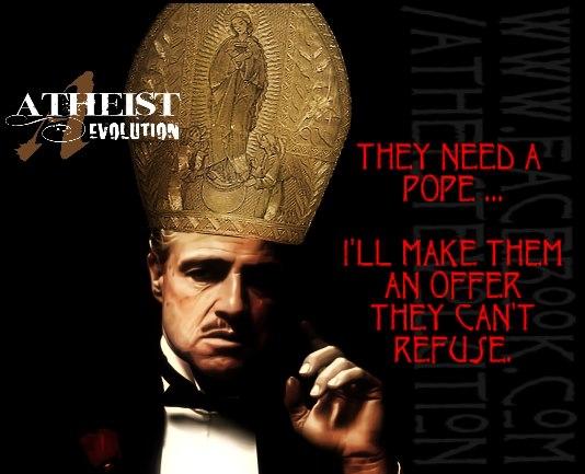 Der Pate als Papst
