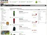 Kategorieansicht Outdoorausrüstung Shop