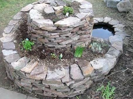 Mindestens 60cm Platz sollte zwischen den Steinmauern sein. Bild: YouTube