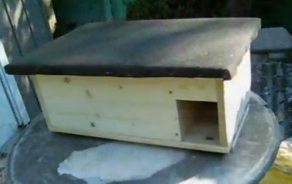 igelhaus bauen berwinterung von igeln im eigenen garten. Black Bedroom Furniture Sets. Home Design Ideas