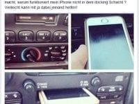 Diese junge Frau hat ein Auto geschenkt bekommen, doch als Sie das iPhone in die Dockingstation schiebt geschieht etwas Unerwartetes ...