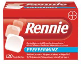 Beliebt gegen Sodbrennen - Rennie