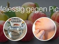 Apfelessig gegen Pickel - ein Hausmittel, das wirklich hilft!
