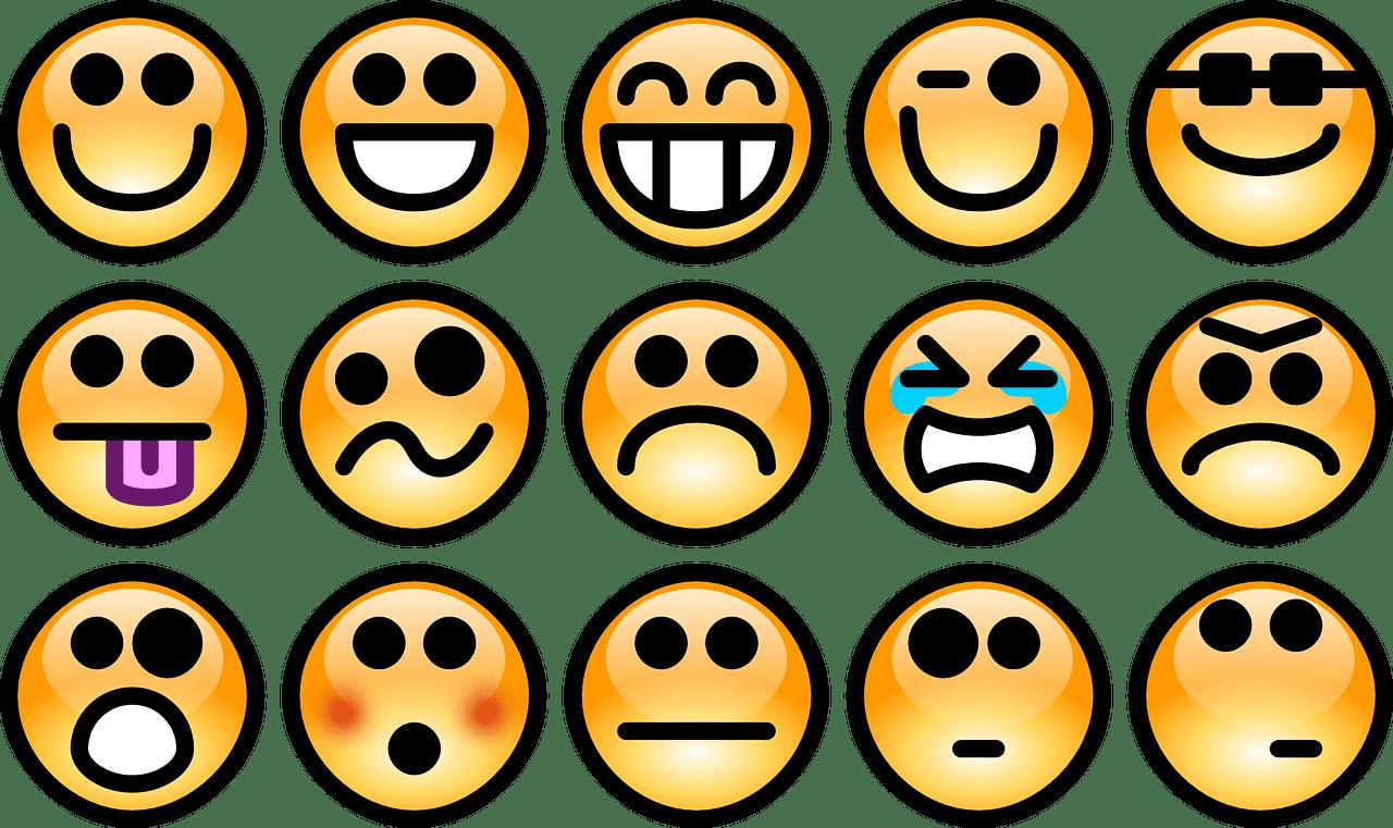 Kuss bedeutung mit smiley Emoji Bedeutung: