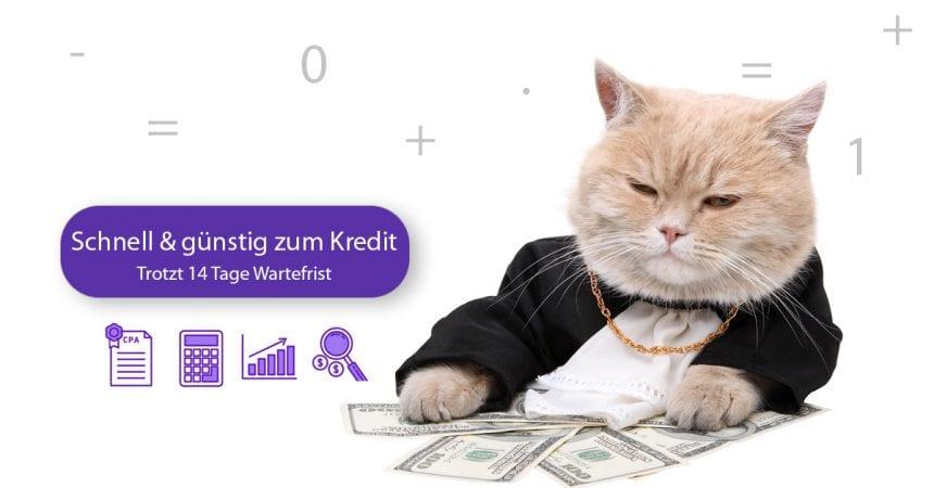 Sofortkredit Schweiz - Schnell und günstig Kredit aufnehmen trotz 14 Tage gesetzlicher Wartefrist. ZEK Eintrag vermeiden. schnelle Zusage, beste Alternativen zum Sofortkredit.