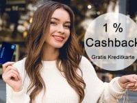 Swisscard Cashback Kreditkarte kostenlos - 1% Geld zurück bekommen auf Einkäufe!