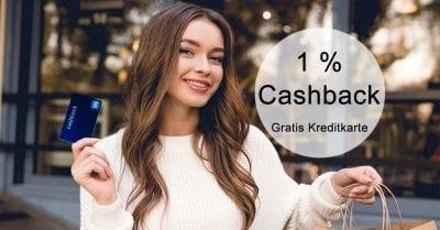 Gratis Swisscard Cashback Kreditkarte kostenlos – 1% Geld zurück bekommen auf Einkäufe! Visa, Mastercard, American Express