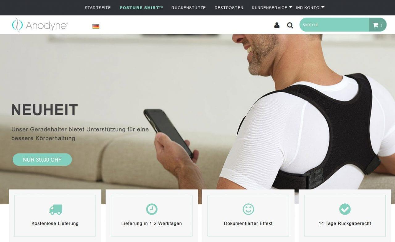 Anodyne Online Shop Schweiz