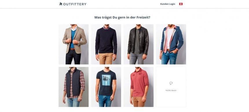 Outfittery Profil Erstellen