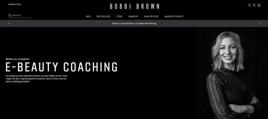 Bobbibrown E Beauty Coaching