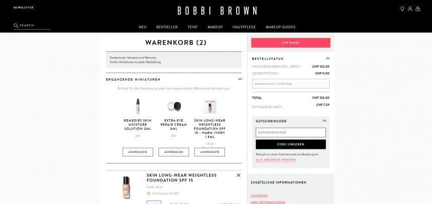 Bobbibrown Tester