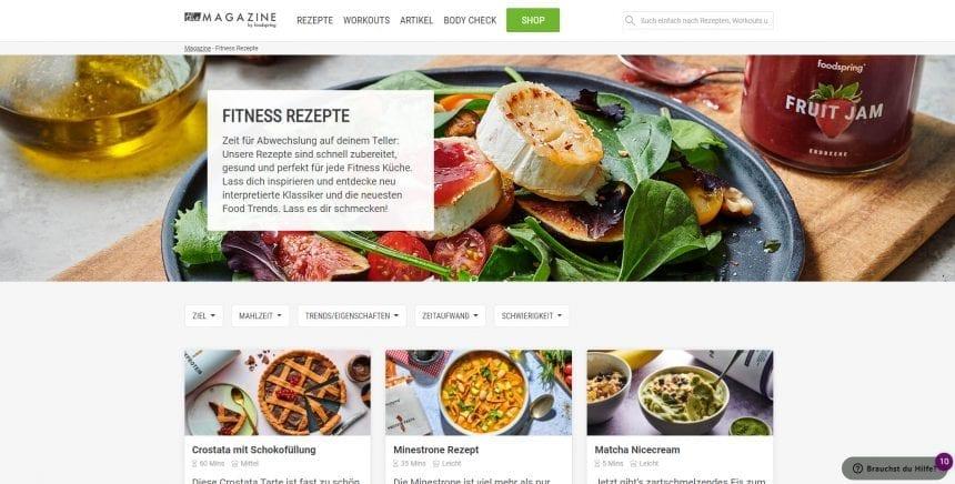 Foodspring Rezepte