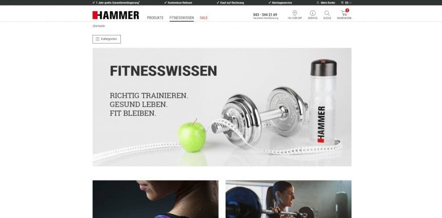 Hammer Fitness Blog