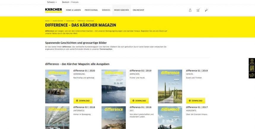 Kaercher Magazin