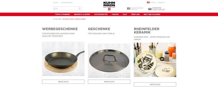 Kuhn Rikon Personalisierung