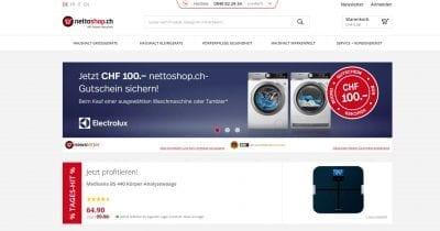Nettoshop Startseite