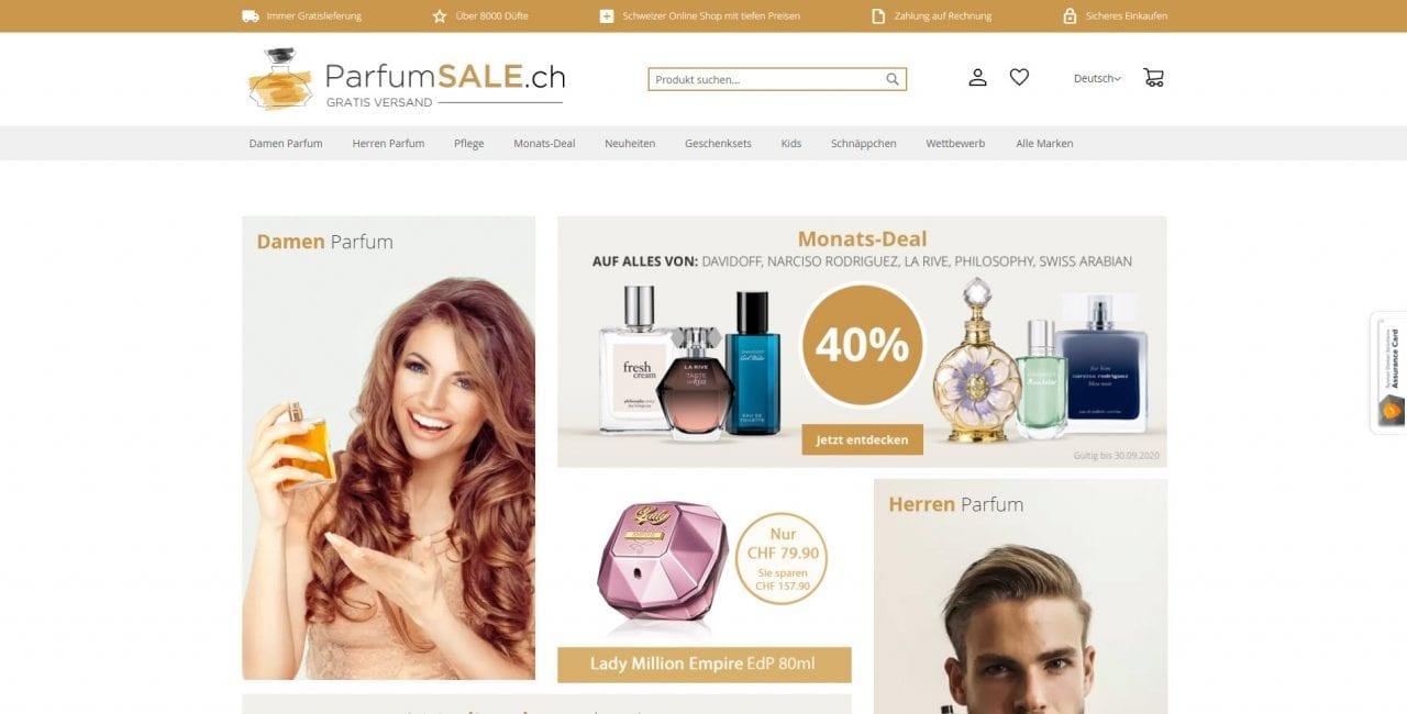 Parfumsale Startseite