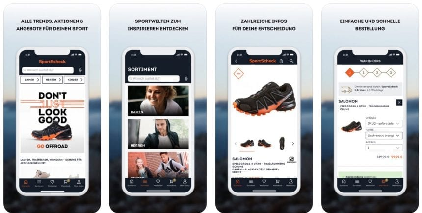 Sportscheck App
