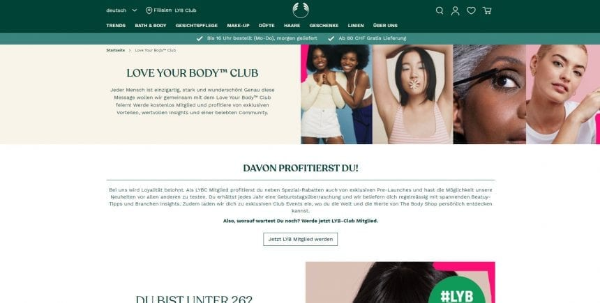 Thebodyshop Lyb Club