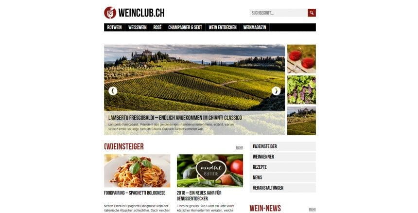 Weinclub Magazin