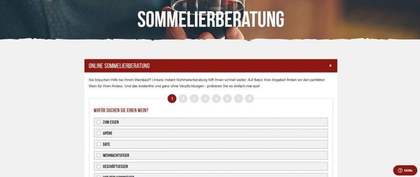 Weinclub Sommelierberatung