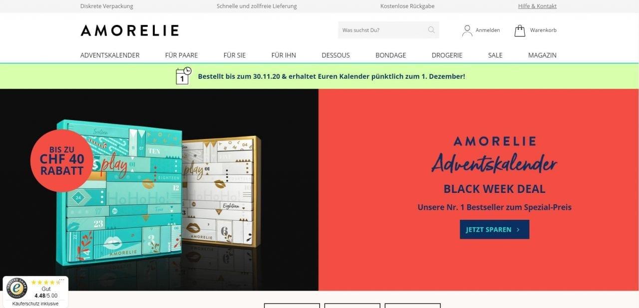 Amorelie Website