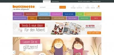 Buttinette Website