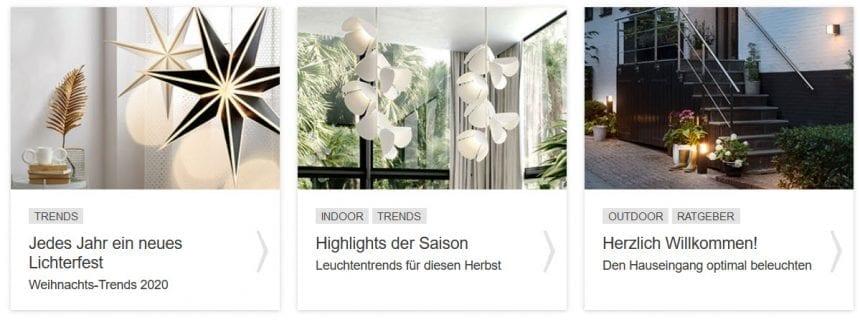 Interieur Design Ideen Lampenwelt