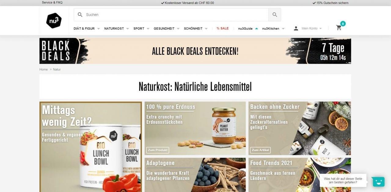 Nu3 Website