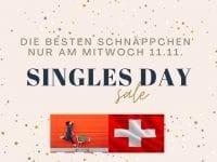 Singles-Day Angebote & Gutscheine in der Schweiz - 11.11.2020