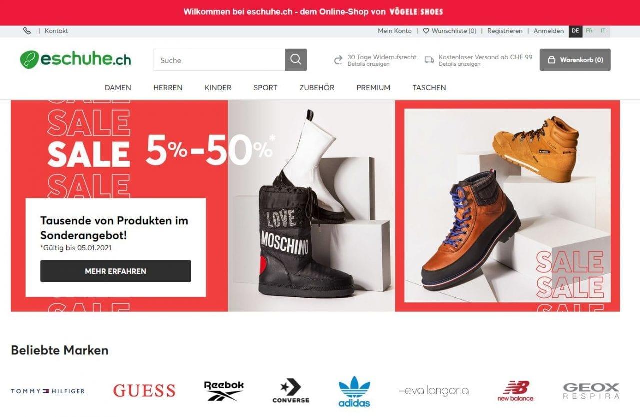 Eschuhe Website