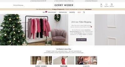 Gerry Weber Website