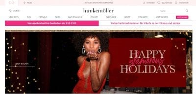 Hunkemöller Website