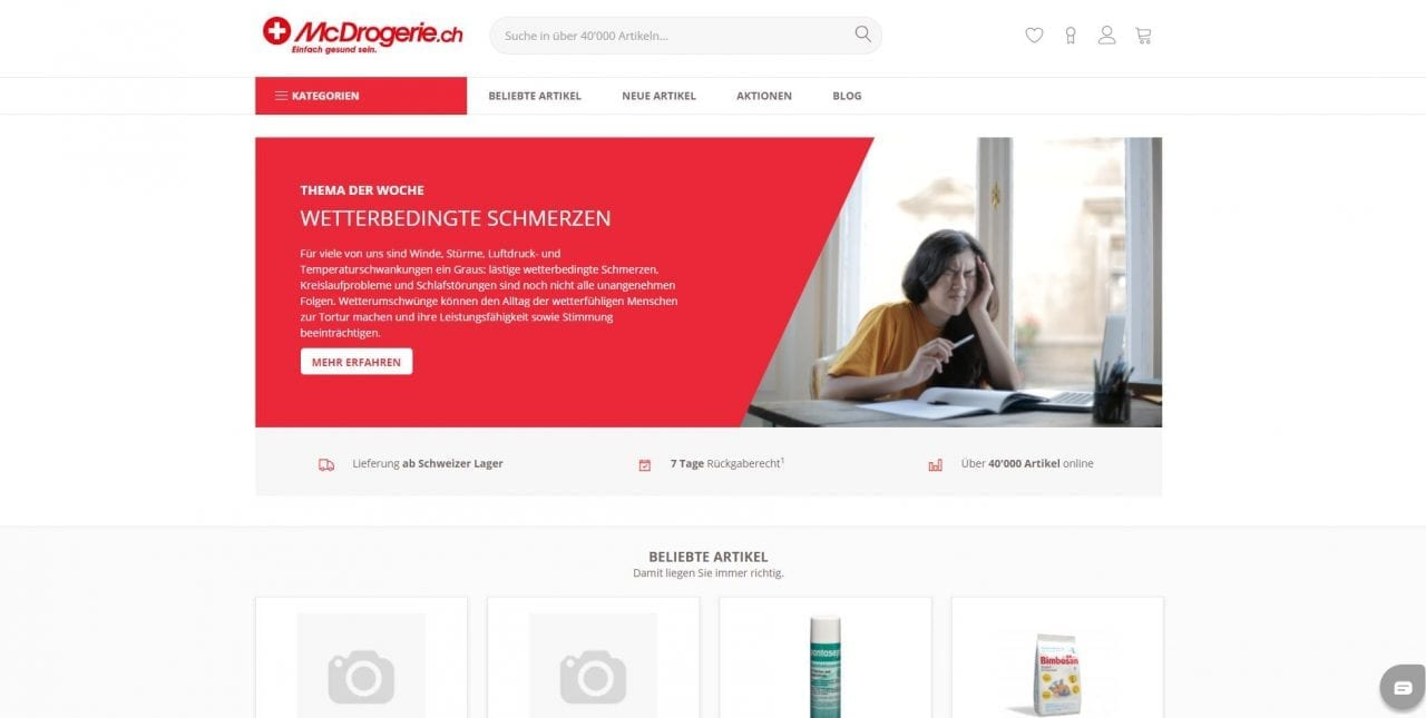 Mcdrogerie Website