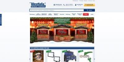 Westfalia Website