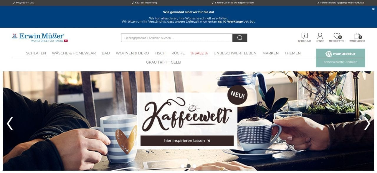 erwin müller website