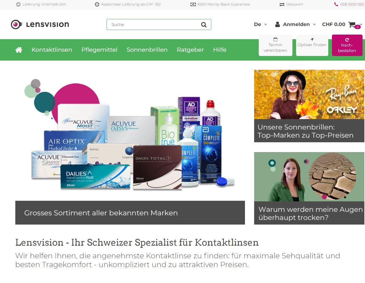 lensvision website