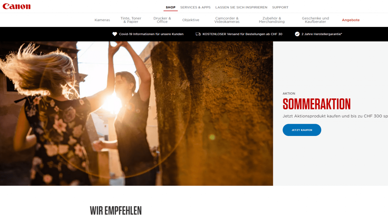 canonstorewebsite