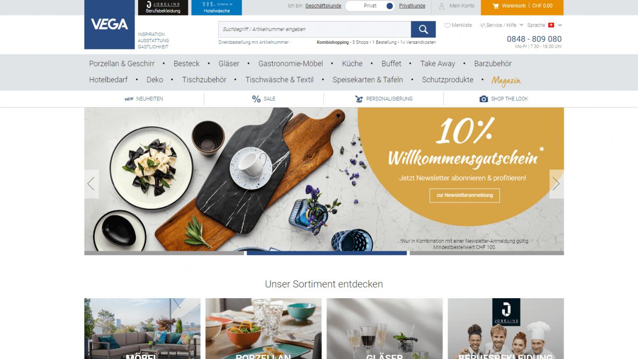 vega directwebsite