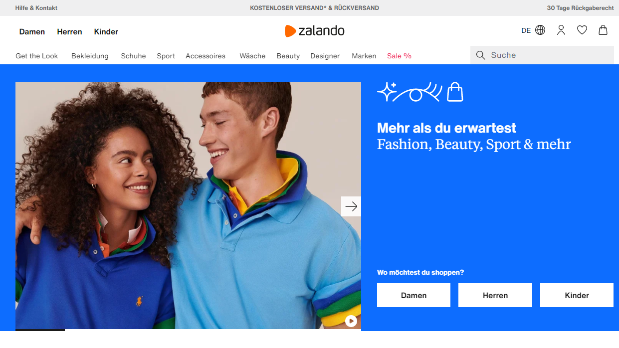 zalandowebsite