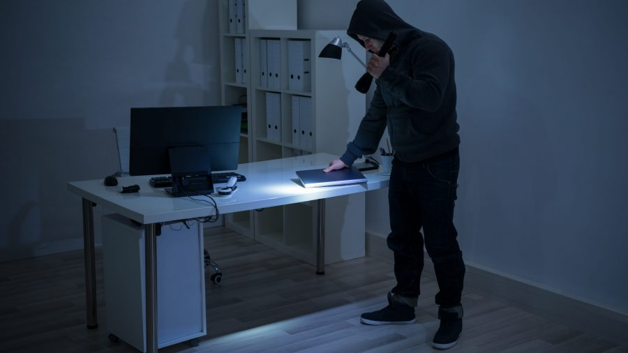 Büro für Einbrechern Schützen - Massnahmen, Tipps, Hilfsmittel zum Einbruchschutz