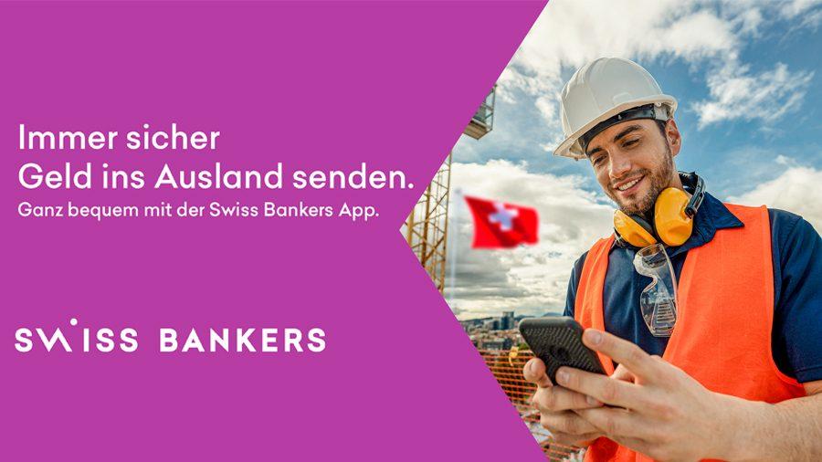 swiss bankers send app geld ausland versenden