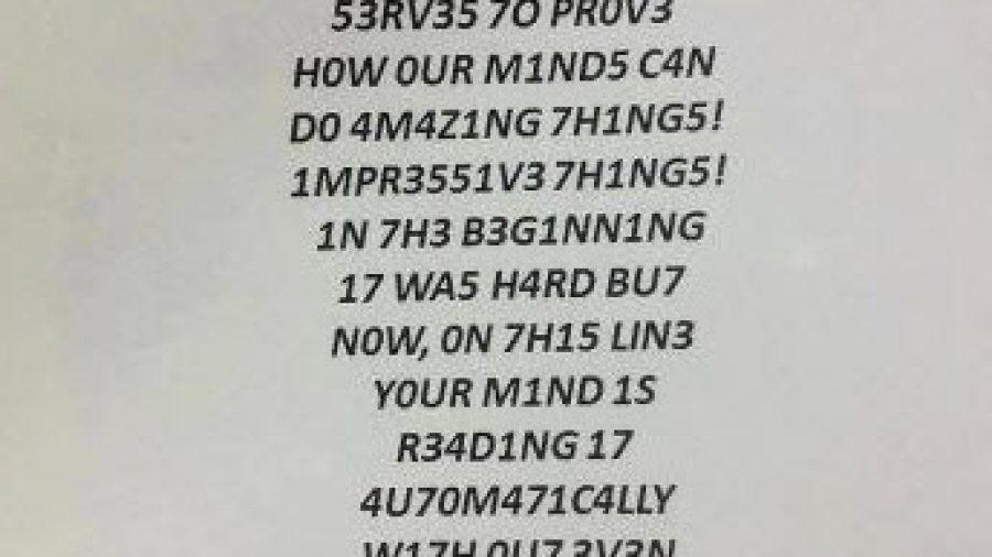 Text aus Zahlen lesen